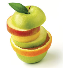 Peace & Harmony Effective Marketing Solutions -Apple Slice Photo
